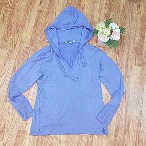 Athleta Pocket Hoodie Soft & Stretchy M Purple